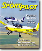 EAA Sport Pilot  Light-Sport Aircraft magazine, December 2006